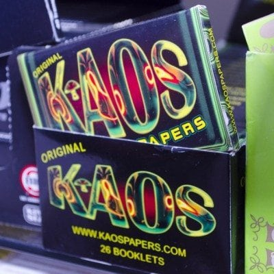 Kaos Papers at Supernova Smoke Shop